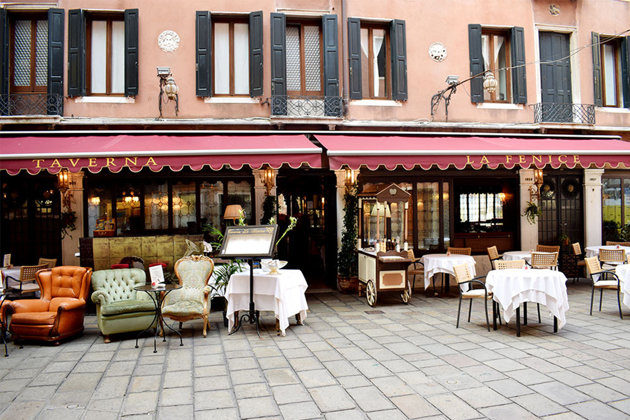 Taverna La Fenice Traditional Italian Cuisine Served In An